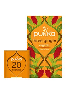 PUKKA Three Ginger Tea 20's -