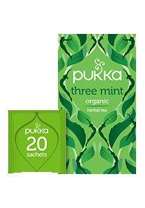 PUKKA Three Mint Tea 20's -