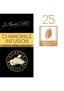 SIR THOMAS LIPTON Chamomile Envelope Tea 25's -
