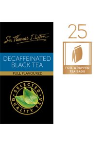SIR THOMAS LIPTON Decaffeinated 25's -