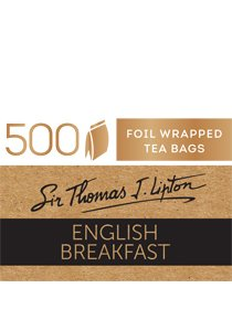 SIR THOMAS LIPTON English Breakfast 500's -