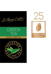 SIR THOMAS LIPTON Green Envelope Tea 25's -
