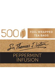 SIR THOMAS LIPTON Peppermint Envelope 500's -