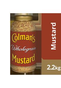 COLMAN'S Wholegrain Mustard 2.2 kg/2.25 L jar