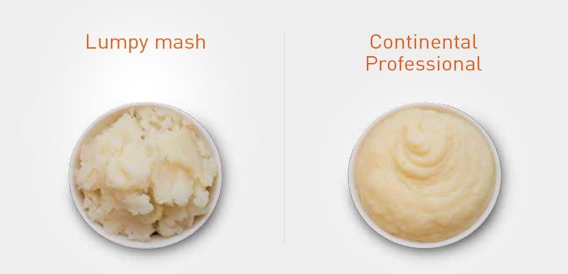 CONTINENTAL Professional Instant Mashed Potato 7 kg - Finely ground real potatoes for creamy smoothness everytime.