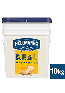 HELLMANN'S Real Mayonnaise 10 kg - Made to an authentic egg yolk recipe for a scratch - made taste, to use right across my menu.