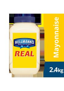 HELLMANN'S Real Mayonnaise 2.4 kg