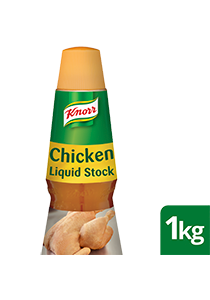 KNORR Concentrated Liquid Stock 1 kg - Each drop adds a rich chicken taste.