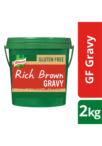 KNORR Gluten Free Rich Brown Gravy 2kg - KNORR Rich Brown Gravy is now gluten free, with a classic, meaty gravy taste.