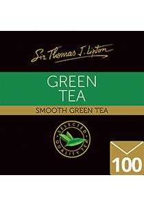 SIR THOMAS LIPTON Green Tea 100's - Individually sealed for a premium and fresher tea.
