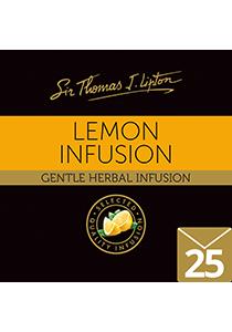 SIR THOMAS LIPTON Lemon Envelope Tea 25's - Individually sealed for a premium and fresher tea.
