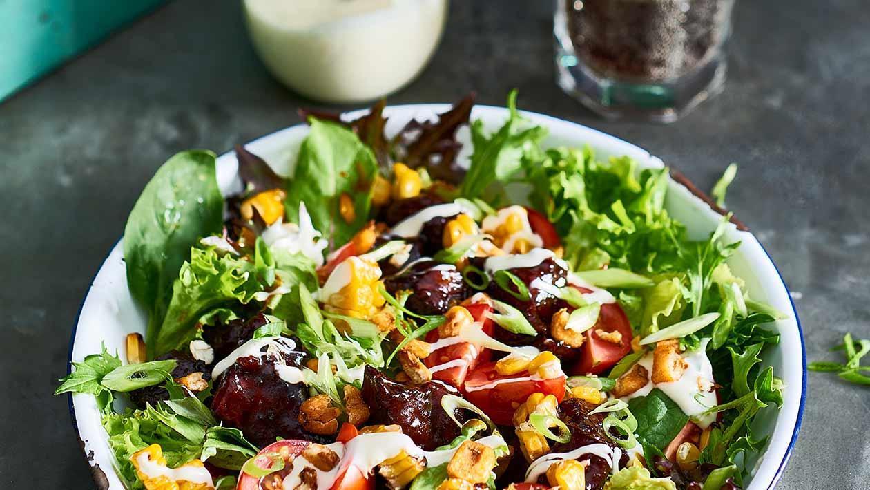 American BBQ Beef Salad – Recipe