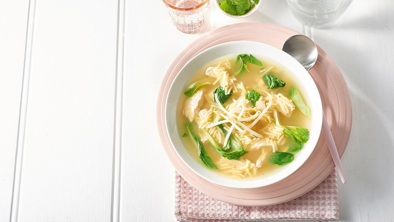 Asian Chicken Noodle Soup – Recipe