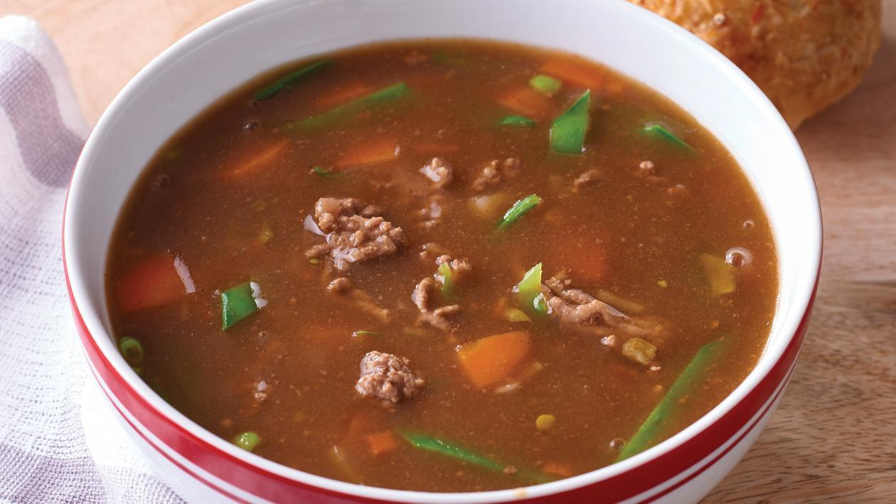 Beef and Vegetable Soup – Recipe