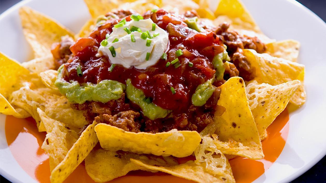 Beef Nachos Grande – Recipe