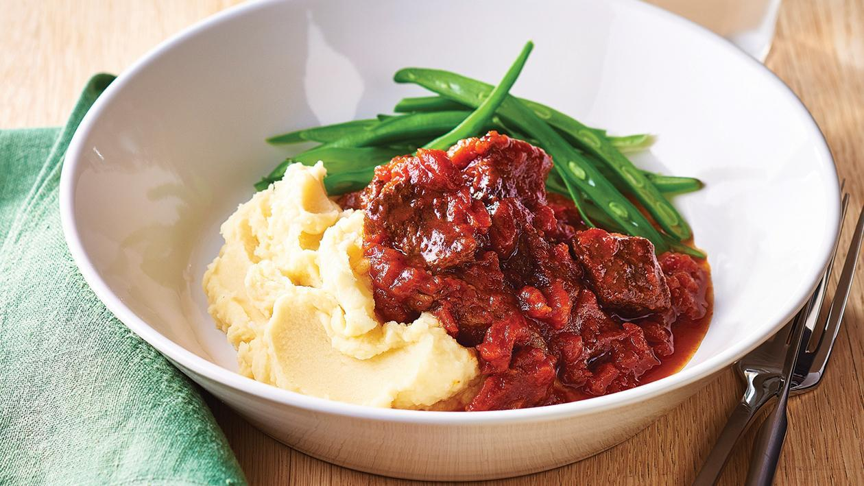 Burgundy Beef Casserole – Recipe