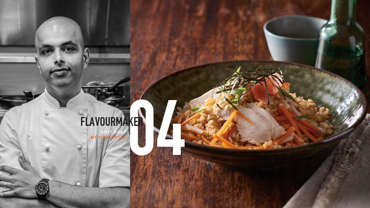 Chicken Sushi Salad with Miso Vinaigrette – Recipe