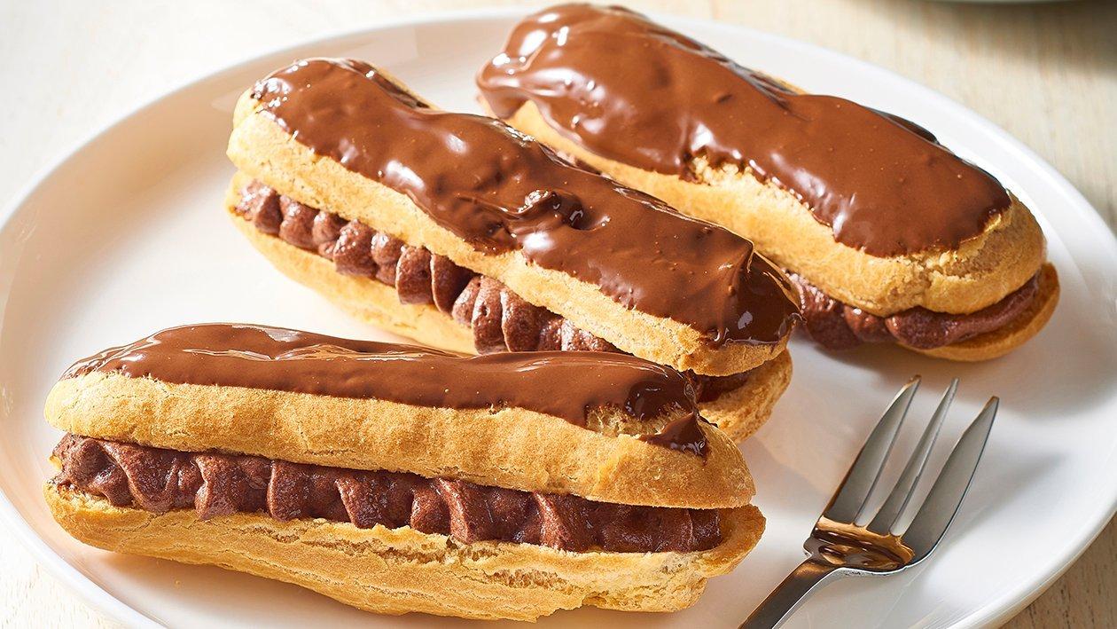 Chocolate Eclairs – Recipe