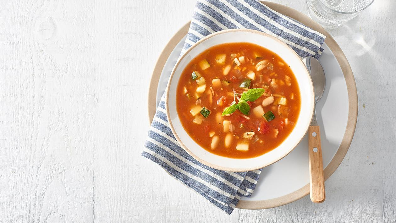 Chunky Minestrone Soup – Recipe