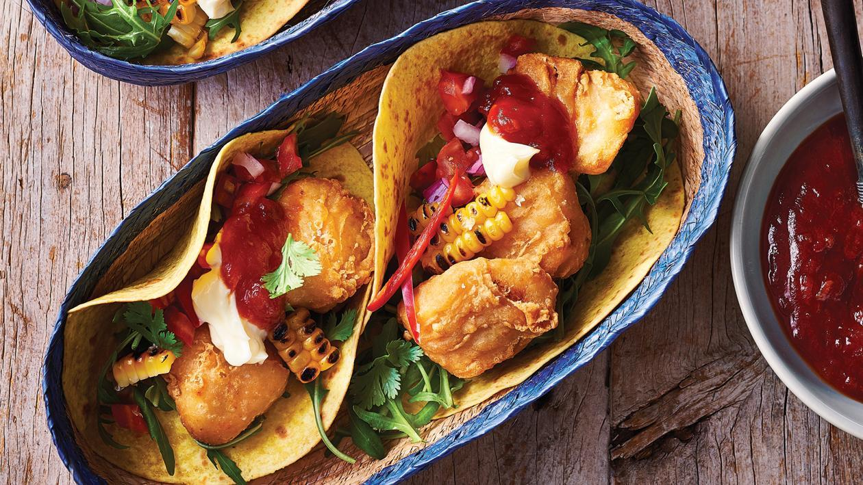 Crispy Fish Tacos – Recipe