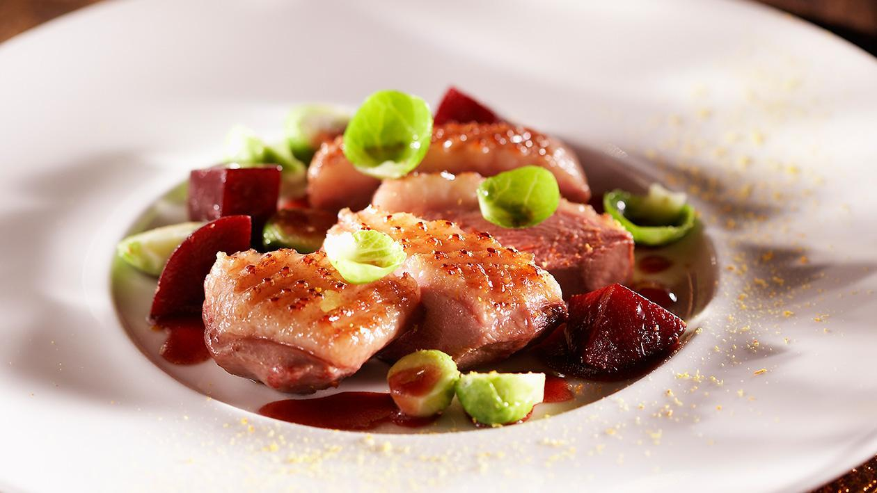 Duck Breast with Beetroot, Orange and Balsamic Vinegar – Recipe