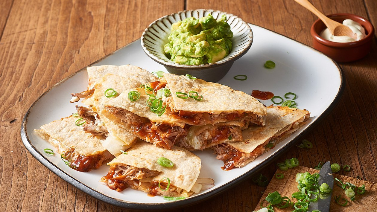 Duck Quesadillas with Chipotle Salsa and Goats Cheese – Recipe