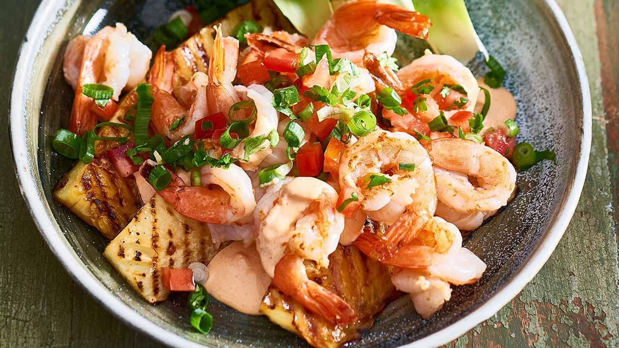 Hawaiian Shrimp Salad – Recipe