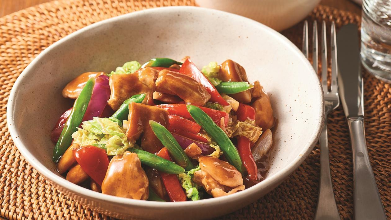 Honey Garlic Chicken Stir Fry – Recipe