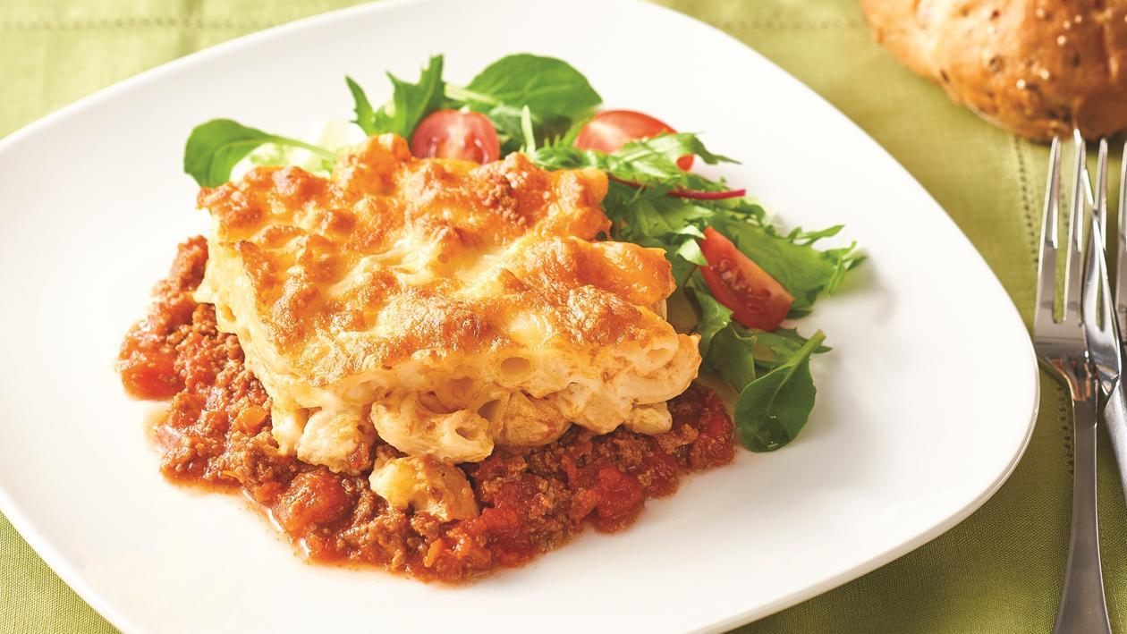 Macaroni and Cheese Lasagne – Recipe