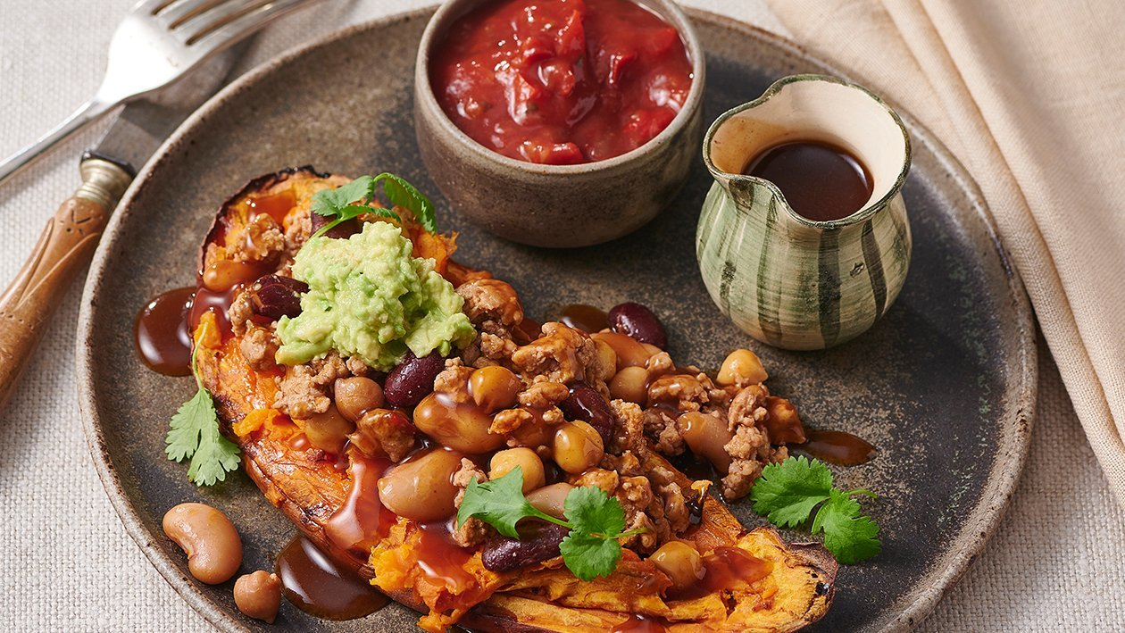 Mexican Loaded Sweet Potatoes – Recipe