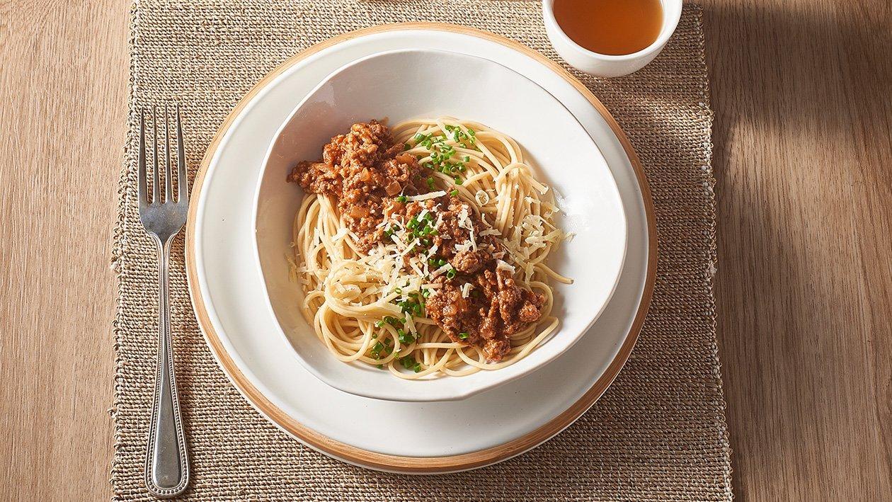Miso Bolognese Ramen – Recipe