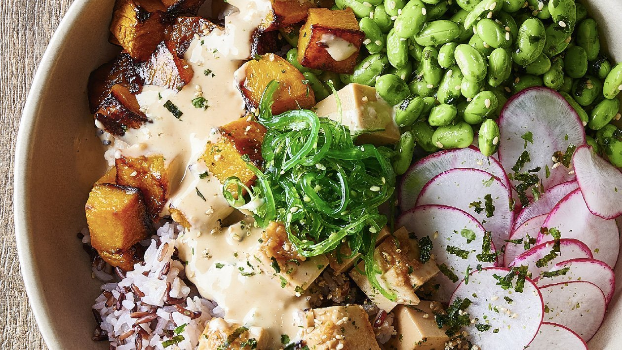 Miso Marinated Tofu Bowl – Recipe