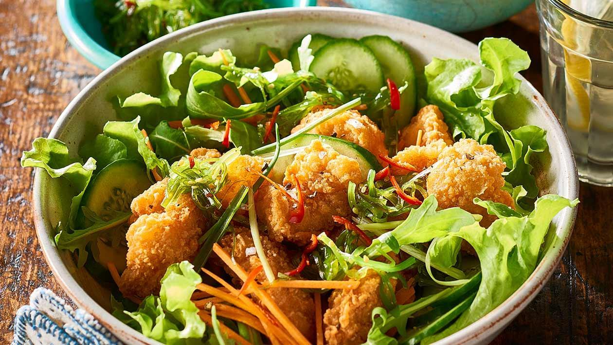 Salt and Pepper Squid Salad – Recipe