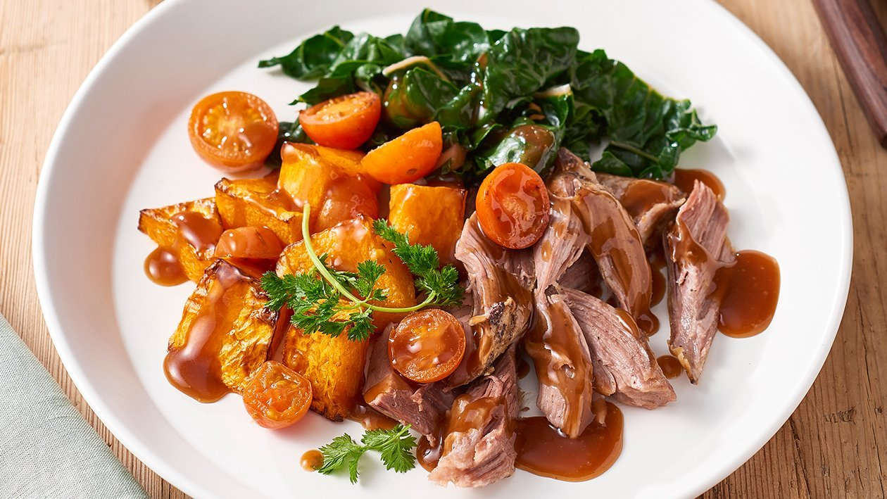 Slow Cooked Lamb Shoulder – Recipe