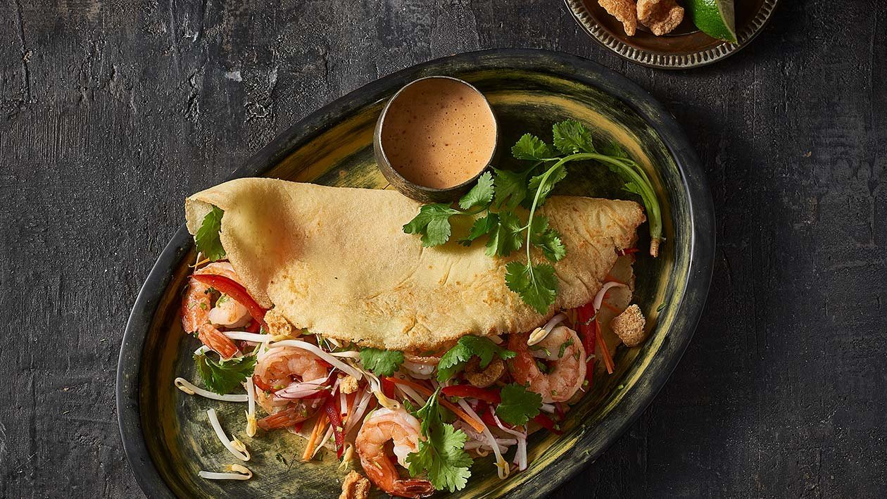 Vietnamese Prawn Crepes – Recipe