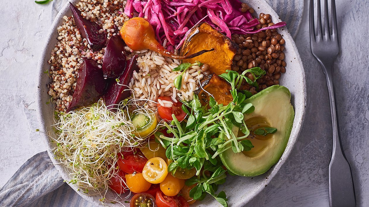Zesty Buddha Bowl – Recipe