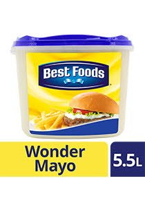 Best Foods Wonder Mayo 5.5L -