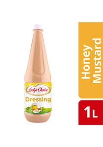 Lady's Choice Honey Mustard Dressing 1L