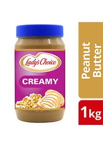 Lady's Choice Peanut Butter Creamy 1kg -