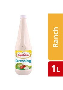 Lady's Choice Ranch Dressing 1L