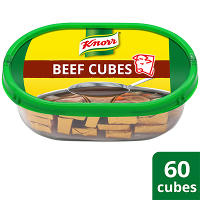 Knorr Beef Cubes Professional Pack 600g