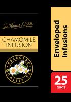 Thomas J. Lipton Chamomile Infusion Tea 25 x 1g