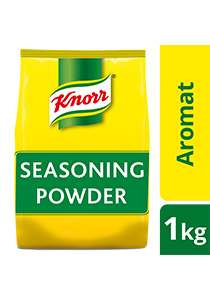 Knorr Aromat Seasoning Powder 1kg - A balanced blend of quality herbs and spices, Knorr Aromat Seasoning Powder makes a great all-purpose seasoning for your dishes.