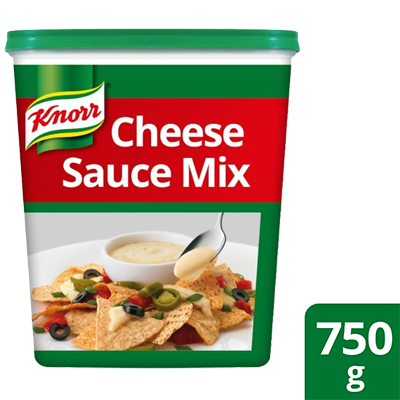 Knorr Cheese Sauce 750g - Made with real, quality ingredients, Knorr Cheese Sauce Mix can be created in just 5 minutes