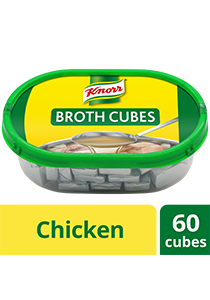 Knorr Chicken Cubes Professional Pack 600g - Only Knorr Chicken Broth delivers that full, meaty taste in your soups and stews consistently