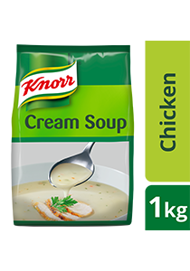 Knorr Cream of Chicken Soup Mix 1kg - Made with real meat, Knorr Cream of Chicken is a high quality base that help minimize your food costs.