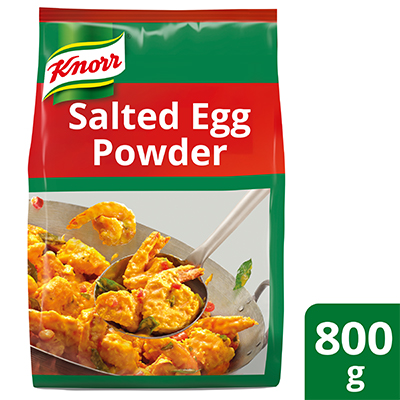 Knorr Golden Salted Egg Powder 800g - Learn how to use the Knorr Golden Salted Egg Powder to make your dishes in just 3 minutes!