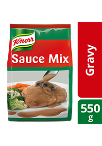 Knorr Gravy Mix 550g - Made with real mushrooms, Knorr Gravy Mix helps you create the perfect gravy every time
