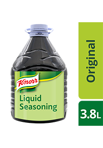 Knorr Liquid Seasoning 3.8L - Knorr Liquid Seasoning elevates the taste of your marinades because of its distinct, well-rounded flavour