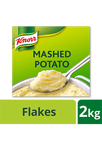Knorr Mashed Potato Mix 2kg - Knorr Mashed Potato helps you create perfectly silky mashed potatoes in 5 minutes.